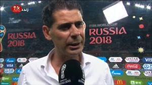 صحبت های هیرو و کاستا بعد از بازی با پرتغال