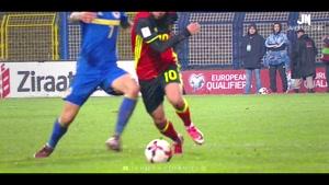 دریبل های ادن هازارد مهاجم تیم ملی بلژیک