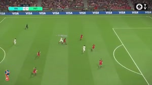 شبیه سازی بازی ایران پرتغال در جام جهانی روسیه