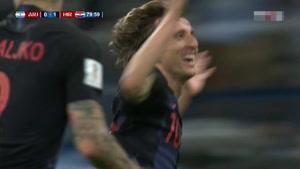 گل دوم کرواسی به آرژانتین - سوپرگل مودریچ