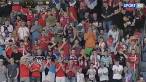 بازی دوستانه صربستان ۵ - ۱ بولیوی