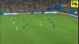 گل زیبای خامس رودریگز به اروگوئه در جام جهانی ۲۰۱۴