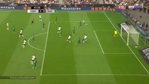 بازی دوستانه آلمان ۲ - ۱ عربستان