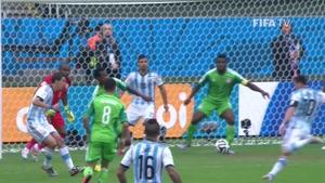 بازی نیجریه مقابل آرژانتین جام جهانی 2014