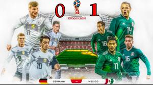 بازی کامل آلمان و مکزیک