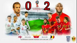 خلاصه بازی بلژیک و انگلیس - رده بندی جام جهانی 2018
