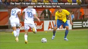 صحبت های زیدان در مورد تیم ملی برزیل