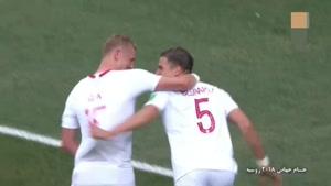 گل اول لهستان به ژاپن توسط بدنارک