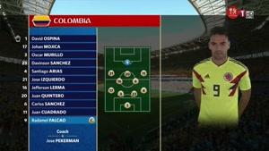 ترکیب کلمبیا و ژاپن در بازی گروهی جام جهانی