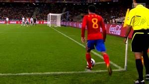 بازی اسپانیا مقابل پرتقال با نتیجه ۱- ۰ در جام جهانی ۲۰۱۰