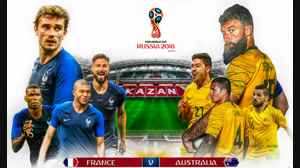 بازی کامل فرانسه و استرالیا جام جهانی ۲۰۱۸