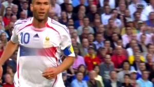بازی اسپانیا و فرانسه با نتیجه ۱-۳ جام جهانی ۲۰۰۶