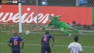اسپانیا مقابل هلند در جام جهانی ۲۰۱۴ برزیل