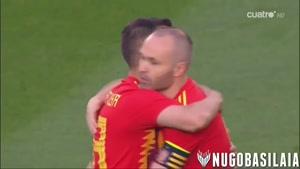 بازی دوستانه اسپانیا ۱ - ۱ سوئیس