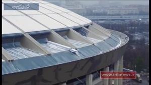 استادیوم مجهز سن پترزبورگ در جام جهانی روسیه