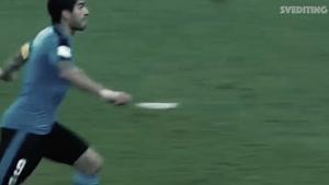 لوئیس سوارز برترین بازیکن تیم ملی اروگوئه در مسیر رسیدن به جام جهانی ۲۰۱۸
