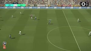 شبیه سازی بازی اروگوئه و عربستان در جام جهانی ۲۰۱۸