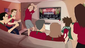 انیمیشن رسمی از تیم ملی پرتغال در جام جهانی ۲۰۱۸ روسیه