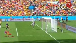 آنالیز گل تیم کیهیل در جام جهانی 2014 مقابل هلند