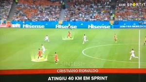 سرعت کریستین رونالدو در این ویدیو ببینید !!!