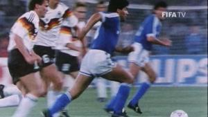 ستاره ی قدیمی آرژانتین ، دیگو مارادونا
