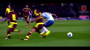 حرکات دیدنی آنخل دی ماریا هافبک تیم ملی آرژانتین