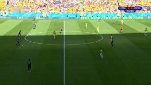 بازی کامل کلمبیا و ژاپن