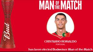بهترین بازیکن بازی پرتغال و اسپانیا