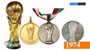 تغییرات کاپ جام جهانی در طی سال ها