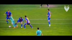 دریبل های مسی مهاجم تیم ملی آرژانتین
