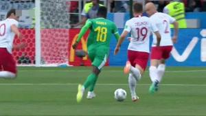 بازی کامل لهستان و سنگال