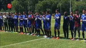 کمپ تیم ایران در روسیه