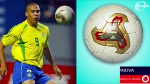 تکامل توپ رسمی جام جهانی از ۱۹۳۰ تا ۲۰۱۸