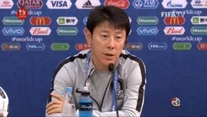 نشست خبری مربیان دو تیم سوئد و کره جنوبی پیش از بازی