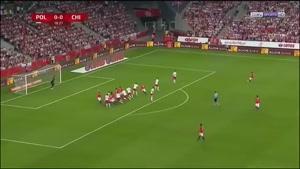 بازی دوستانه لهستان ۲ - ۲  شیلی