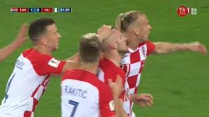 گل اول کرواسی به نیجریه توسط  اتبو بازیکن نیجریه