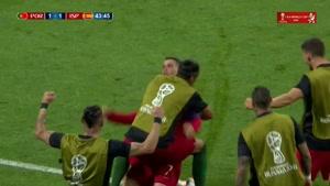 گل دوم رونالدو به اسپانیا
