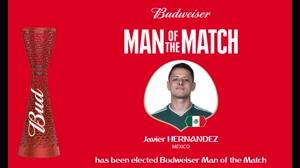 بهترین بازیکن بازی کره جنوبی و مکزیک