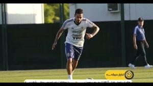 مانوئل لانزینی هافبک آرژانتینی به دلیل مصدومیت جام جهانی را از دست داد