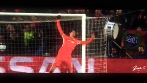 سیوهای تماشایی تیبو کورتوا دروازه بان تیم ملی بلژیک