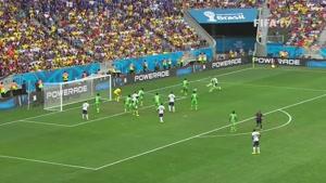 بازی فرانسه و نیجریه در جام جهانی 2014