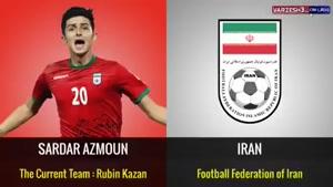 بهترین بازیکن تمام  تیم های حاضر در جام جهانی ۲۰۱۸ را بشناسید