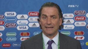 مصاحبه سرمربی تیم ملی عربستان سعودی درباره ی نتیجه جام جهانی در فینال