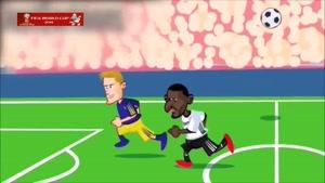 انیمیشن بازگشت آلمان به جام جهانی ۲۰۱۸