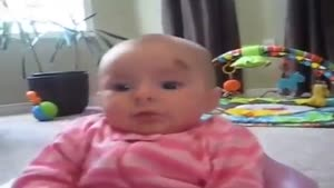 نوزاد ترسناک دیدنی خنده دار جالب