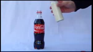 شیر و کوکاکولا