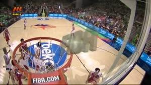 بسکتبال ایران - مصر کوارتر دوم