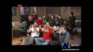 تماشای دربی همراه با ستارگان سینما و تلویزیون