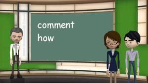 یادگیری زبان فرانسه - واژگان - انگلیسی به فرانسوی