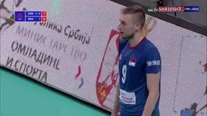 لیگ ملتهای والیبال صربستان ۰ - برزیل ۳